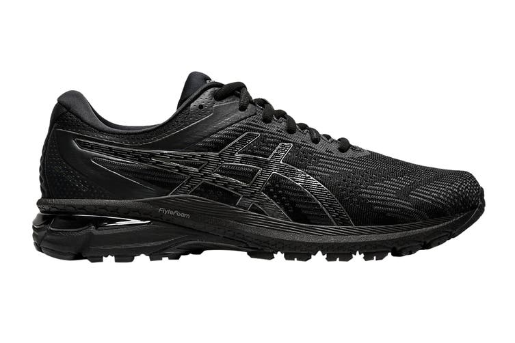 ASICS Men's GT-2000 8 (Black/Black, Size 9.5 US)