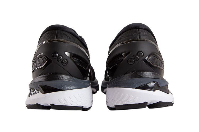 Asics Men's Gel-Kayano 27 Running Shoe (Black/Pure Silver, Size 12.5 US)