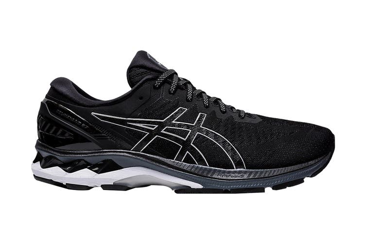 Asics Men's Gel-Kayano 27 Running Shoe (Black/Pure Silver, Size 9.5 US)