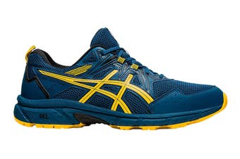 Asics Men's Gel-Venture 8 Running Shoe (Mako Blue/Saffron)