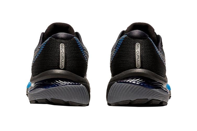 Asics Men's Gel-Cumulus 22 Running Shoe (Black/Directo Ire Blue, Size 12.5 US)