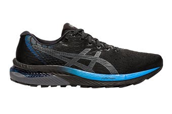 Asics Men's Gel-Cumulus 22 MK Running Shoe (Black/Directo Ire Blue)
