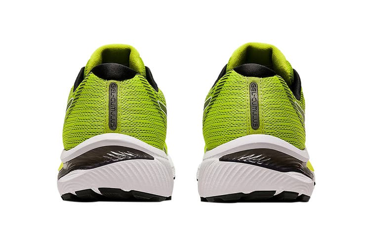 Asics Men's Gel-Cumulus 22 Running Shoe (Lime Zest/Black, Size 10.5 US)