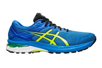 Asics Men's GT-2000 9 Running Shoe (Directoire Blue/Lime Zest, Size 13 US)