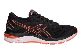 ASICS Women's Gel-Cumulus 20 Running Shoe (Black/Flash Coral)