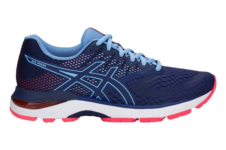 ASICS Women's Gel-Pulse 10 Running Shoe (Blue Print, Size 6.5)