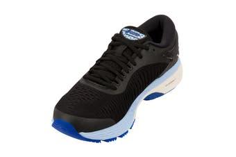ASICS Women's Gel-Kayano 25 Running Shoe (Black/Blue, Size 6)
