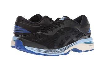 ASICS Women's Gel-Kayano 25 Running Shoe (Black/Blue, Size 7)