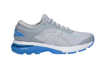 ASICS Women's  Gel-Kayano 25 Running Shoe (Mid Grey/Blue Coast, Size 6.5)