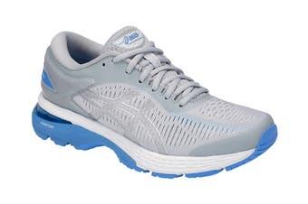 ASICS Women's  Gel-Kayano 25 Running Shoe (Mid Grey/Blue Coast)