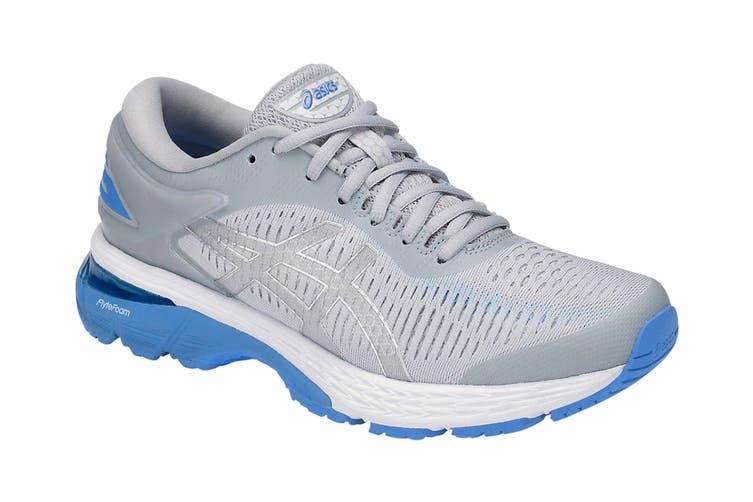 ASICS Women's  Gel-Kayano 25 Running Shoe (Mid Grey/Blue Coast, Size 5)