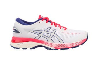 ASICS Women's Gel-Kayano 25 Running Shoe (White/White)