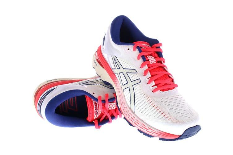 ASICS Women's Gel-Kayano 25 Running Shoe (White/White, Size 7.5)