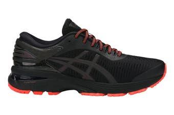ASICS Women's Gel-Kayano 25 Lite-Show Running Shoe (Black/Black, Size 6)