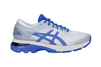 ASICS Women's Gel-Kayano 25 Lite-Show Running Shoe (Mid Grey/Illusion Blue Size 10.5)