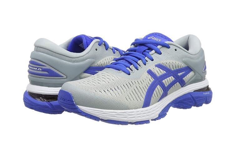 ASICS Women's Gel-Kayano 25 Lite-Show Running Shoe (Mid Grey/Illusion Blue Size 6.5)