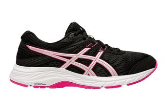 Asics Women's Gel-Contend 6 Running Shoe (Black/Pink Glo, Size 11.5 US)