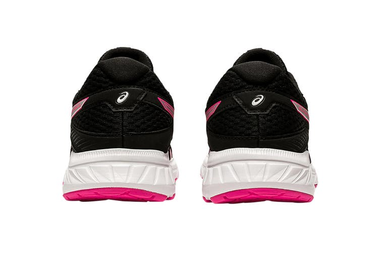 Asics Women's Gel-Contend 6 Running Shoe (Black/Pink Glo, Size 12 US)
