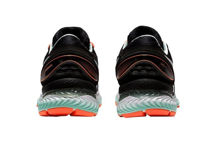 Asics Women's Gel-Nimbus 22 Running Shoe (Black/Bio Mint, Size 8.5 US)