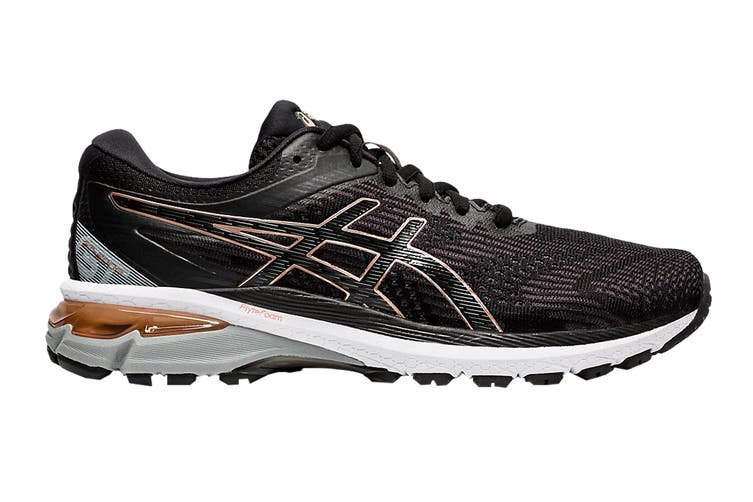 ASICS Women's GT-2000 8 (Black/Rose Gold, Size 6.5 US)