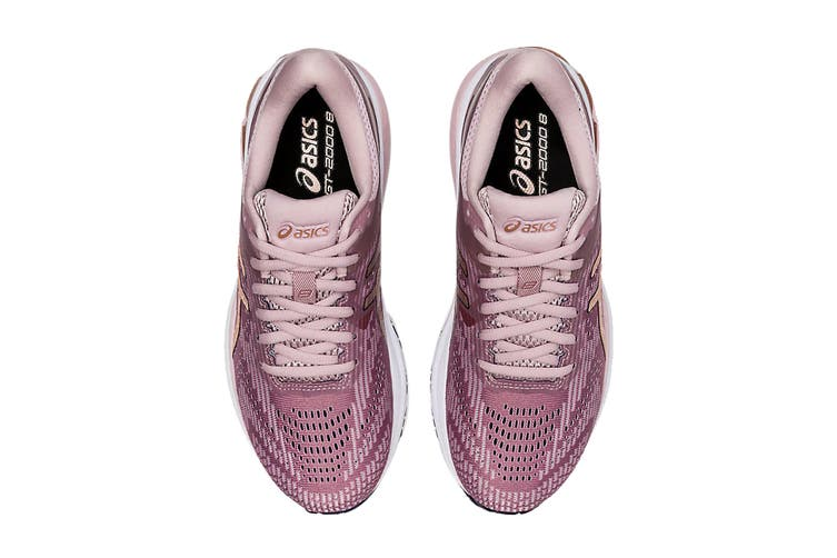ASICS Women's GT-2000 8 Running Shoe (Watershed Rose/Rose Gold, Size 6.5 US)