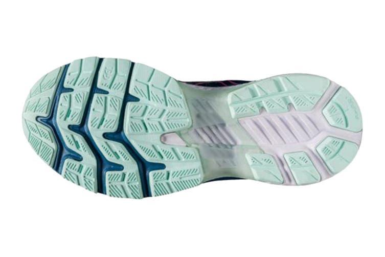 Asics Women's Gel-Kayano 27 Running Shoe (Mako Blue/ Hot Pink, Size 10.5 US)