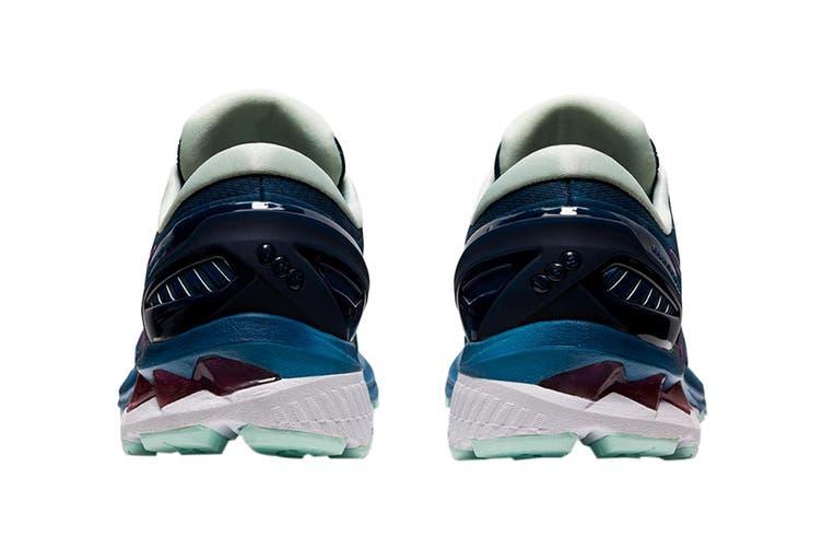 Asics Women's Gel-Kayano 27 Running Shoe (Mako Blue/ Hot Pink, Size 8.5 US)