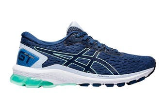 Asics Women's GT-10009 Running Shoe (Grand Shark/Peacoat, Size 11 US)
