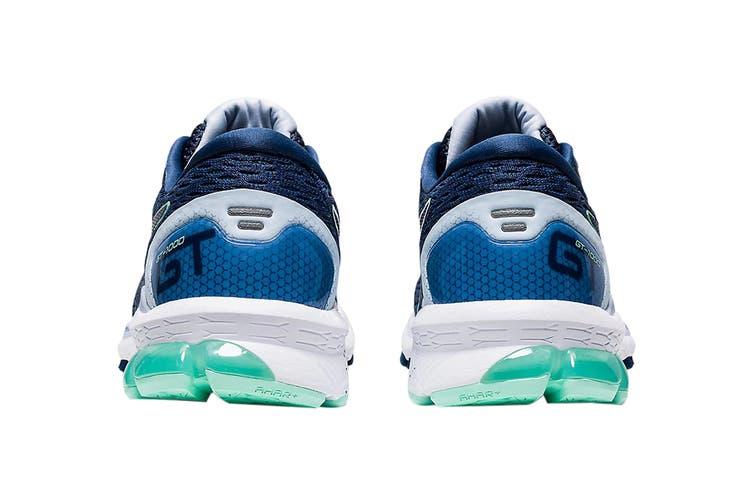 Asics Women's GT-10009 Running Shoe (Grand Shark/Peacoat, Size 7.5 US)