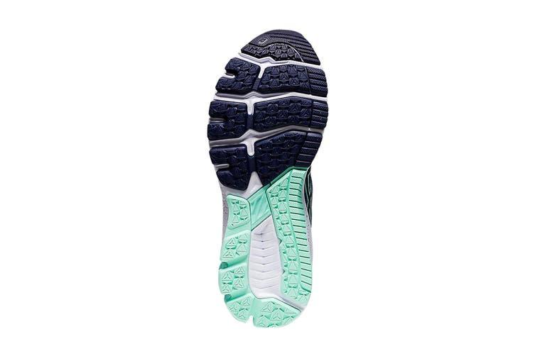 Asics Women's GT-10009 Running Shoe (Grand Shark/Peacoat, Size 9.5 US)