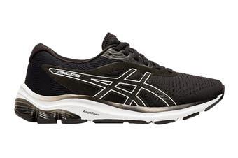 Asics Women's Gel-Pulse 12 Running Shoe (Black/White, Size 10.5 US)