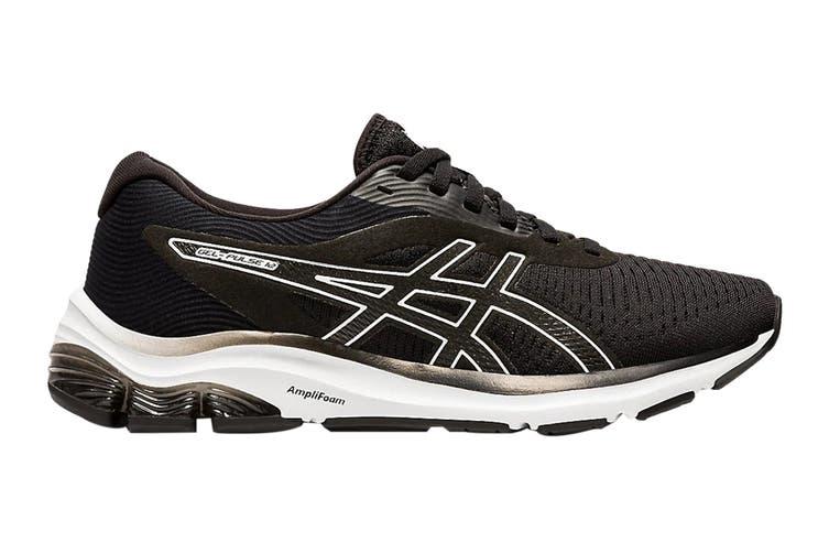 Asics Women's Gel-Pulse 12 Running Shoe (Black/White, Size 11.5 US)