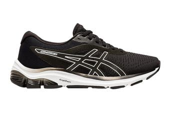 Asics Women's Gel-Pulse 12 Running Shoe (Black/White, Size 9 US)