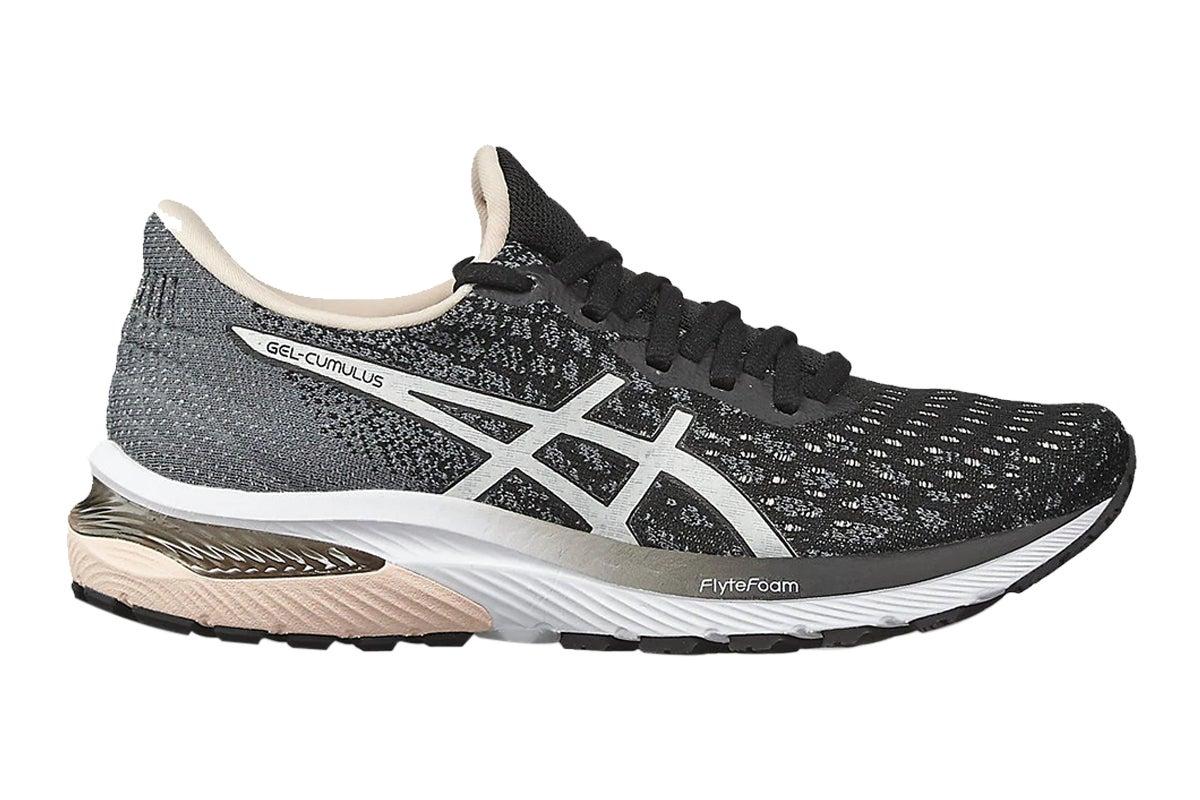ASICS Women's Gel-Cumulus 22 MK Running Shoe (Black/White, Size 6 US)   Athletic Shoes  