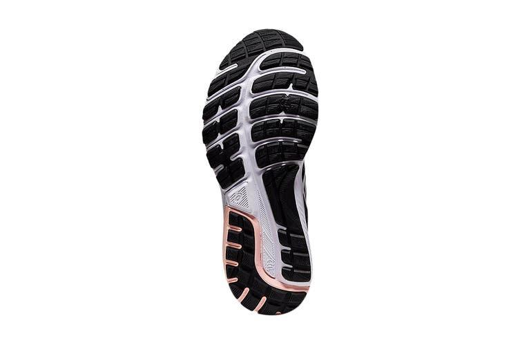 Asics Women's Gel-Cumulus 22 MK Running Shoe (Black/White, Size 8.5 US)