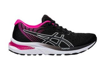 Asics Women's Gel-Cumulus 22 Running Shoe (Black/Pink Glo, Size 12 US)