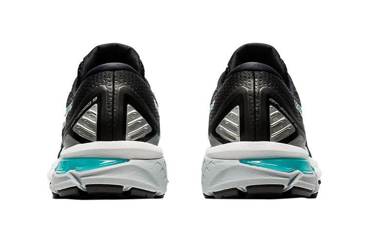 Asics Women's GT-2000 9 Running Shoe (Black/Techno Cyan, Size 7.5 US)