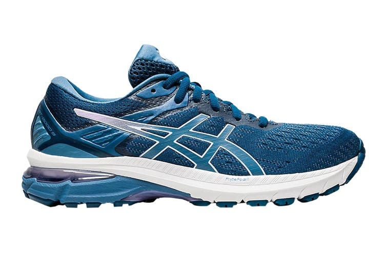 Asics Women's GT-2000 9 Running Shoe (Mako Blue/Grey Floss, Size 8.5 US)