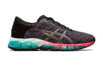 ASICS Women's Gel-Quantum 360 5 Running Shoe (Black/Gunmetal)