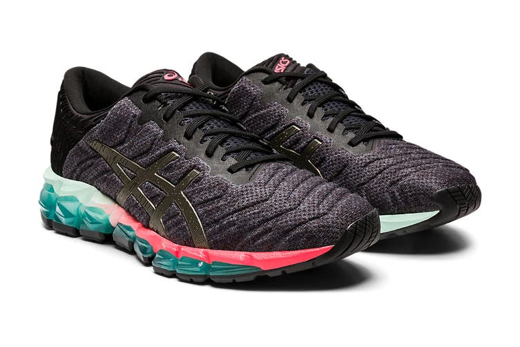 ASICS Women's Gel-Quantum 360 5 Running Shoe (Black/Gunmetal, Size 7 US)