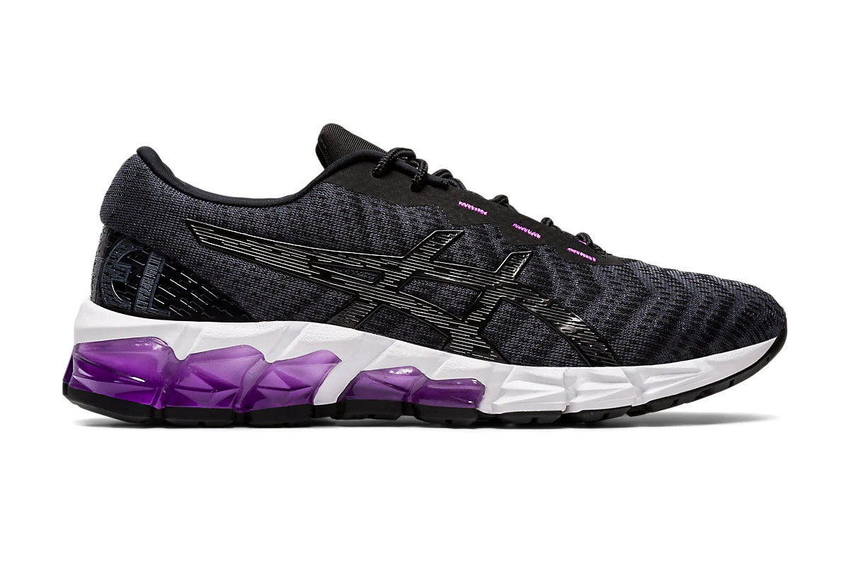 ASICS Women's Gel-Quantum 180 5 Running Shoe (Black/Graphite Grey, Size 10.5 US)