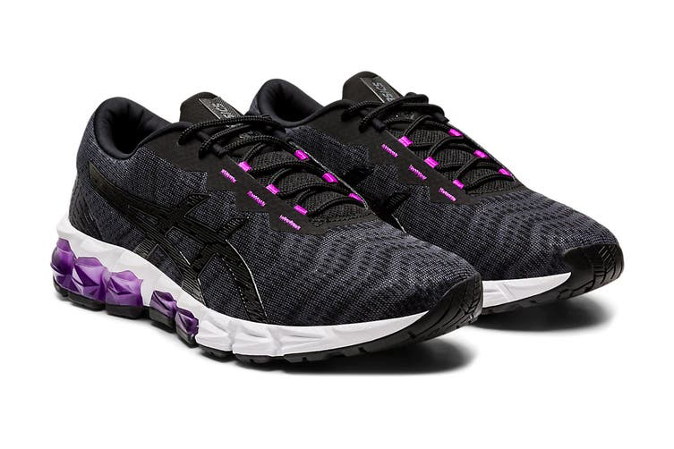 ASICS Women's Gel-Quantum 180 5 Running Shoe (Black/Graphite Grey, Size 7 US)