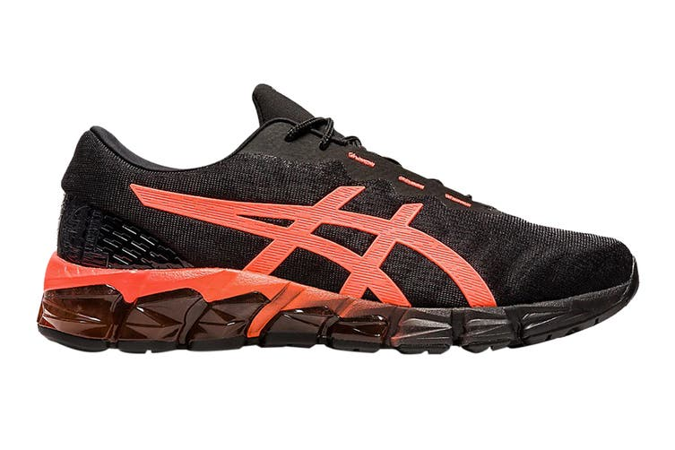 Asics Men's Gel-Quantum 180 5 Running Shoe (Black/Sunrise Red, Size 12.5 US)