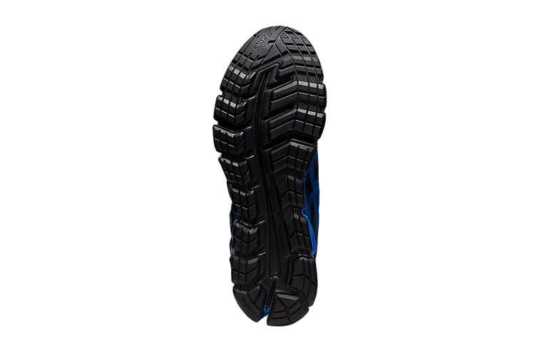Asics Men's Gel-Quantum 180 5 Running Shoe (Carrier Grey/Electric Blue, Size 8.5 US)