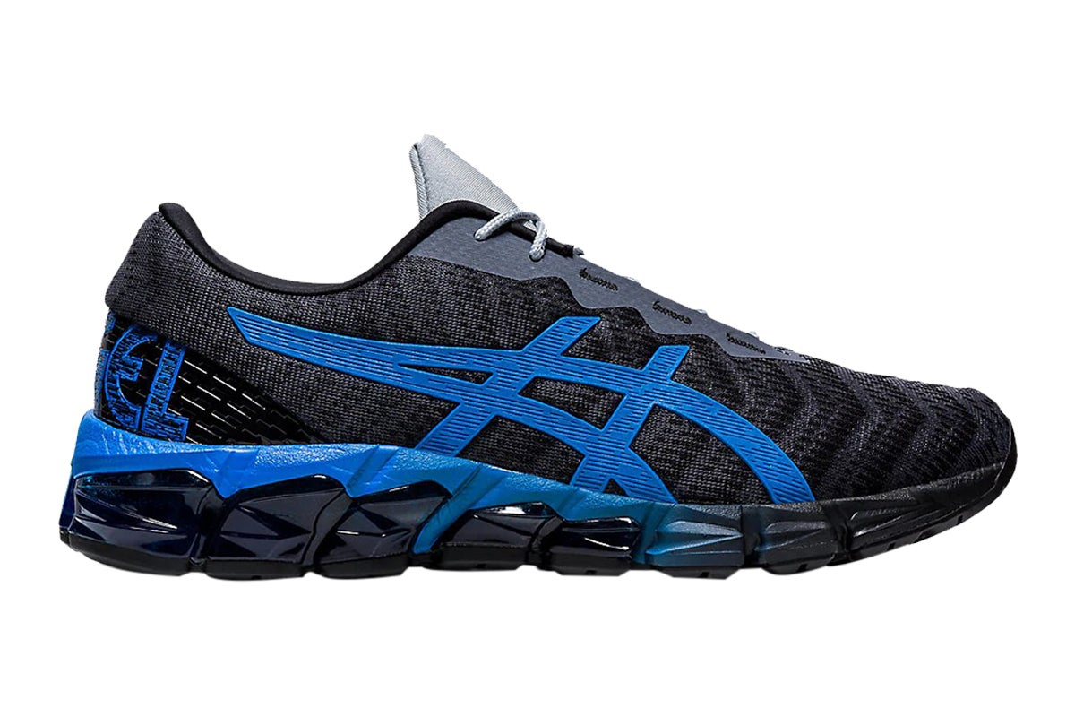 ASICS Men's Gel-Quantum 180 5 Running Shoe (Carrier Grey/Electric Blue, Size 8 US)   Athletic Shoes  