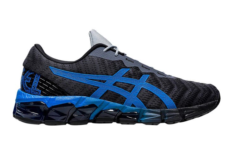 Asics Men's Gel-Quantum 180 5 Running Shoe (Carrier Grey/Electric Blue, Size 8 US)