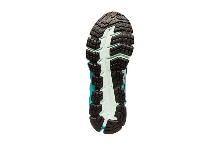 Asics Women's Gel-Quantum 180 5 Running Shoe (Black/Bio Mint, Size 11 US)