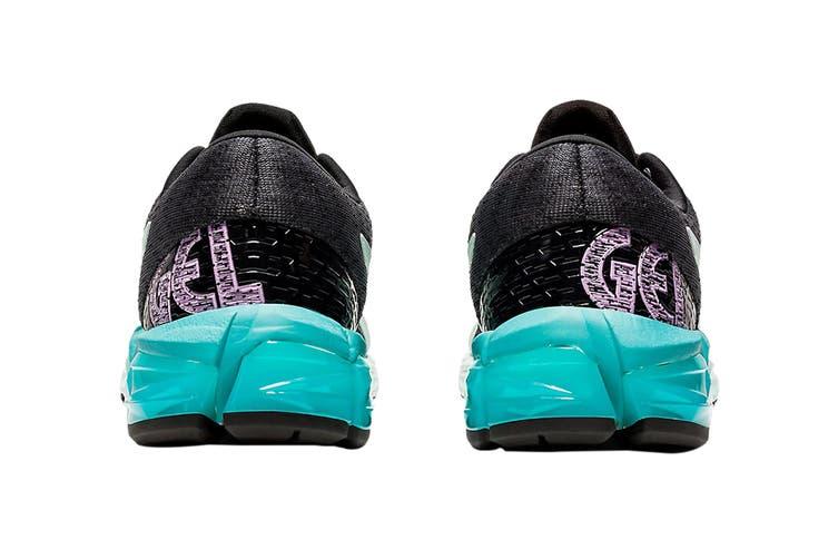 Asics Women's Gel-Quantum 180 5 Running Shoe (Black/Bio Mint, Size 8 US)