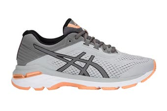 ASICS Women's GT-2000 6 Running Shoe (Mid Grey/Carbon)