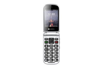 Aspera F28 Flip Seniors Phone (Black)